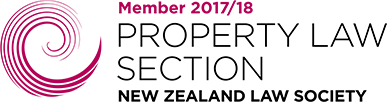 Property Law Section New Zealand Law Society logo