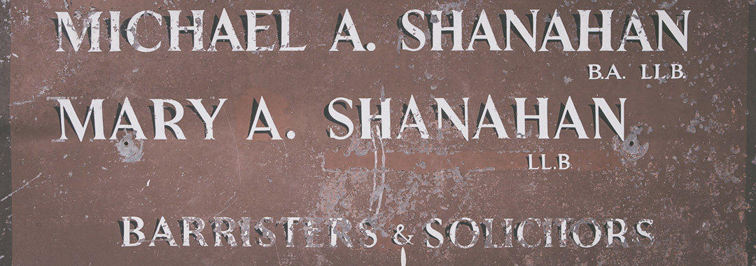 Shanahans Law reach 60 years